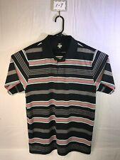 Men's XL Mizuno Short Sleeve Striped Polo Shirt