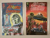 Atomic Overdrive 1 2 Caliber Comics Complete Set Series Run Lot 1-2 VF/NM