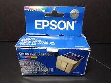 Epson Color Ink Cartridge S020191 New Genuine Factory Sealed Ink Cartridge