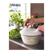 IKEA TOKIG Plastic Salad Lettuce Spinner Dryer Server Serving Bowl Container