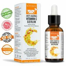 Vitamin C Face Serum with Hyaluronic Acid Suitable For Micro Needle Derma Roller