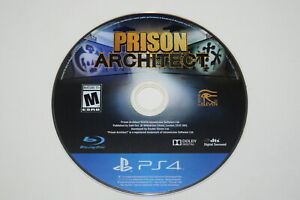 Prison Architect Sony Playstation 4 PS4 Video Game Disc Only