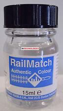 RailMatch 317 Deltic Blue (As used on the DELTIC Prototype)  Enamel New 15ml Jar
