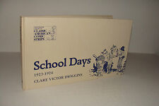 School Days 1923-1924 by Clare Victor Dwiggins 1977 Hyperion Hardcover  RARE OOP