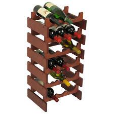 Wooden Mallet 18 Bottle DakotaWine Rack - WR36MH Wine Rack NEW