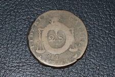 convention, 2 sols 1793 I