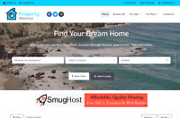 Start Your Own Property Selling Website - Free Domain Name + Installation!