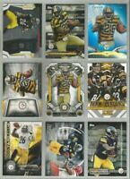 Le'Veon Bell Pittsburgh Steelers 9 card 2014-2015 insert lot-all different