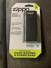 New Zippo Rechargable Heat Bank
