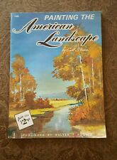 New Vintage Painting the American Landscape Art Workbook - Stricker Foster #145