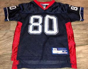 Boys NFL Eric Moulds #80 Buffalo Bills Reebok Jersey Size Youth Boys Medium 5/6