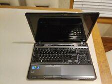 New listing Toshiba satellite a665 laptop