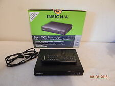 Insignia tv converter good used with remote And Box NS-DXA1