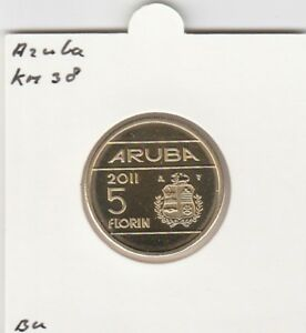 Aruba 5 florin 2008 BU - KM38