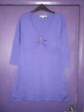 BODEN PURPLE WOOL LONG TOP/DRESS SIZE 12