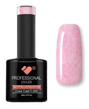 FL004 VB Line Fluff Cheese Pink White - gel nail polish - super gel polish