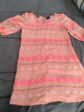 Rue 21 Dress Sexy S Bright Colorful 3/4 Sleeves EUC