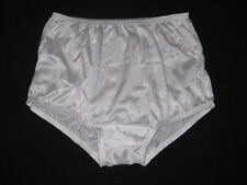 AMERICAN MADE LADIES WHITE ALL NYLON PANTIES SIZE 9  W-38 INCHES