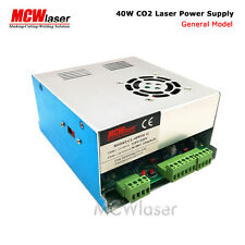 40W Power Supply CO2 Laser Engraving Cutting Machine 110V/220V Switch green port