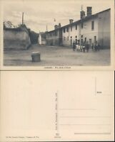 LAVAGNA PIAZZA CON BAMBINI LAVAGNESI IN POSA FOTOGRAFICA-RARA-N.47813