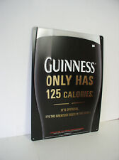 2006 Guinness metal sign used but not abused 22x16 inches