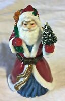Midwest of Cannon Falls Porcelain Santa Claus Hinged Trinket Box       JB0497