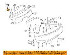 Infiniti NISSAN OEM 03-07 G35 Rear Bumper-Stay Support Bracket Right 85210AM811