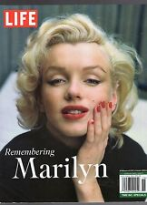 REMEMBERING MARILYN MONROE SPECIAL LIFE MAGAZINE-CLASSIC PICTURES-NO LABEL
