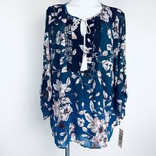 NANETTE LEPORE Multicolor Women Blouse. Size 1X. New With Tags