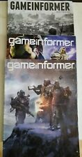 Game Informer Magazines 3  ISSUES # 281~293~300 Preowned Used 9/16, 9/17, 4/18