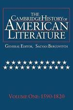 The Cambridge History of American Literature, Vol. 1: 1590-1820 (The-ExLibrary