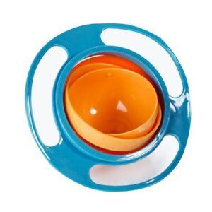 Creative Gyro Umbrella Spill-Proof Baby Feeding Dishes Child Rotary Balance Bowl