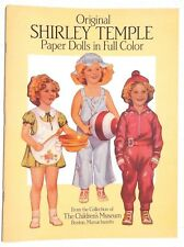 NEW Vtg 1988 SHIRLEY TEMPLE Childrens Museum  (Dover) Paper Dolls Book / Booklet