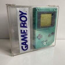 NINTENDO GAME BOY CLASSIC DMG-001 1989 GREEN PLAY IT LOUD SPECIAL EDITION BOX