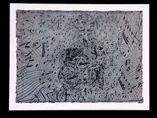 JAUME PLENSA carton NOCTURNE gal Lelong Art abstrait Barcelone Espagne gravure