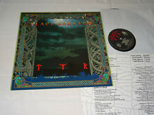 BLACK SABBATH - TYR / EEC IRS-VINYL-LP 1990 (EX) & INLET