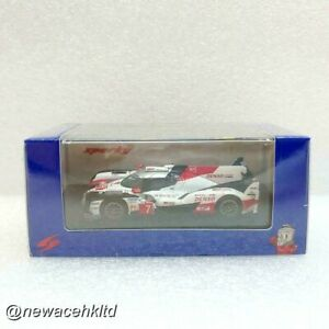 TOYOTA TS050 HYBRID #7 TOYOTA GAZOO Racing 2nd 24H SPARK MODEL 1/64 #Y138