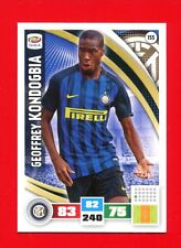 CALCIATORI 2016-2017 - Adrenalyn Panini Card n. 155 - KONDOGBIA - INTER