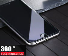ShockProof 360 Hybrid Silicone Case With Glass Front Cover For iPhone X 8 7 Plus