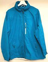 Backswing Womens Jacket Size 18 Blue/Aqua Weatherproof Jacket