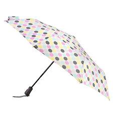 Totes X-tra Strong Auto Open And Close Umbrella - Pastel Big Paradise Dot Print