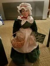 Dept. 56 A Christmas Carol Mrs. Cratchit Porcelain Doll 18 inch