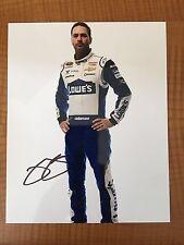 Jimmie Johnson Daytona Profile Signed 8x10 Photo NASCAR COA