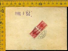 Regno Colonie Occupazioni Lubiana occ. Tedesca bollettino pacchi 1944 G 257