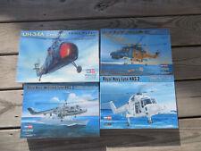 Hobbyboss 1:72 Helicopter Lot Lynx UH-34A 87215 87236 87237 87239 Model Kit