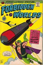 Forbidden Worlds Comic Book #138, ACG 1966 VERY FINE-