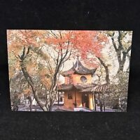 Vintage Post Card Hanshan Temple Suzhou China