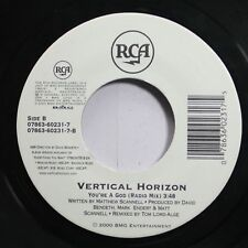 90'S Rock 45 Vertical Horizon - You'Re A God (Radio Mix) / Everything You Want (