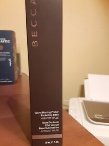 BECCA Velvet Blurring Primer Perfecting Base Apricot Haze 1 fl oz New in Box $38
