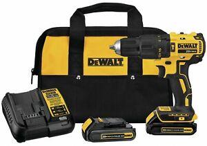 "DeWALT DCD778C2 20V MAX 1/2"" Cordless Brushless Compact Hammer Drill/Driver Kit"